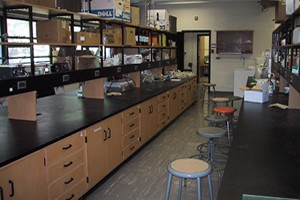 water and soil chemistry lab