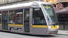 Dublin LRT Train - photo by Madigan Wood